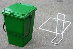Kompostspand med låg